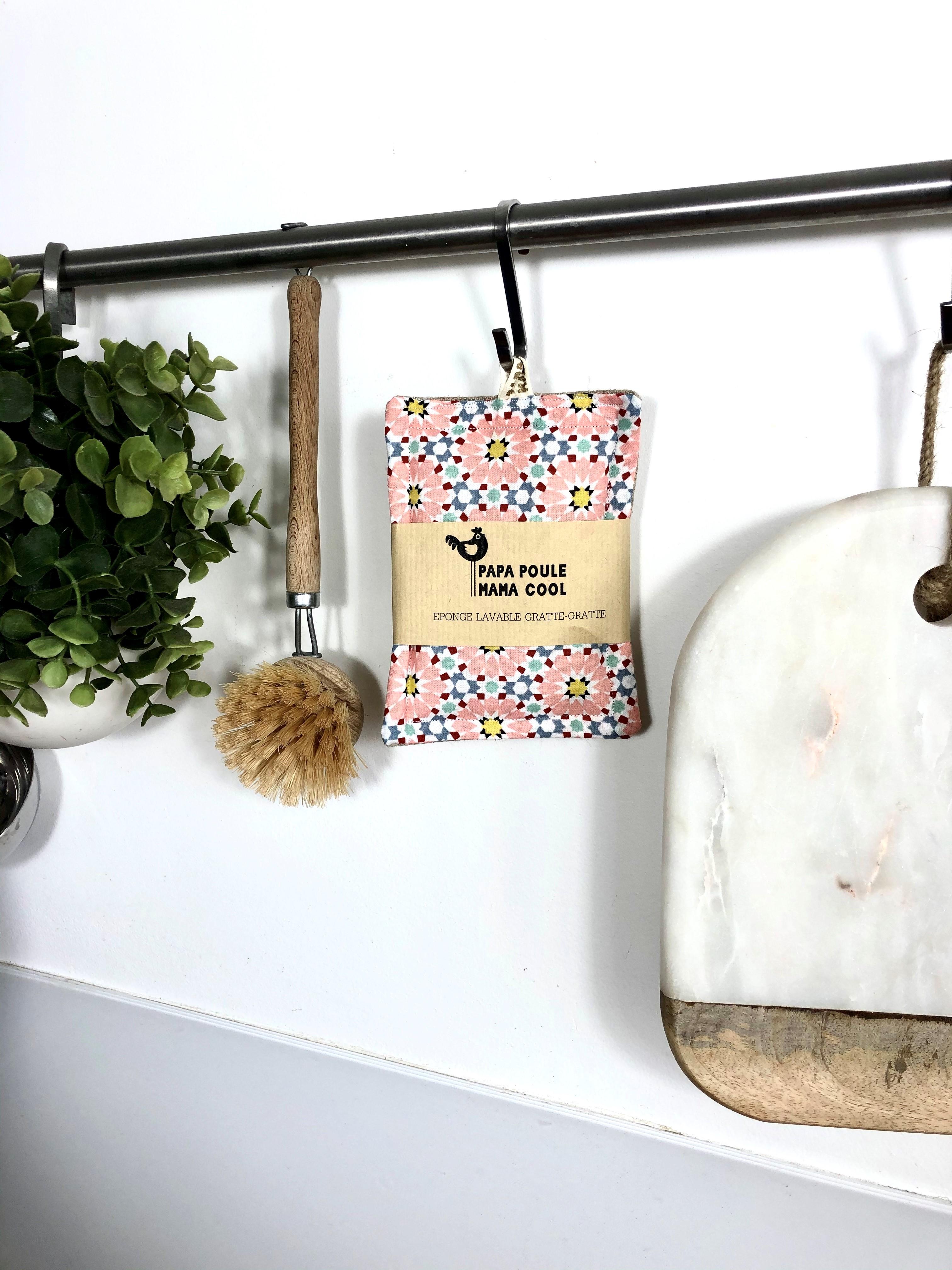 Eponge Gratte-Gratte lavable réutilisable